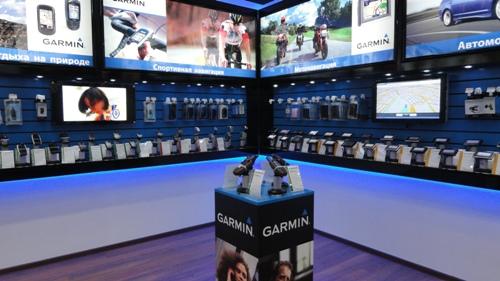Системы защиты от краж в магазине GARMIN