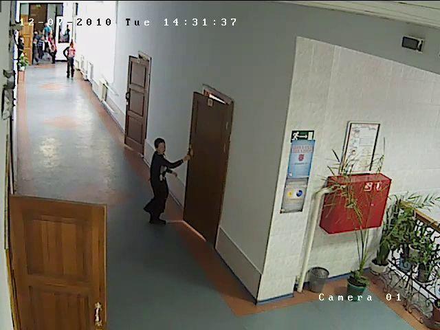 г. Томск, Детская  общеобразовательная школа № 12 Камера DS-2CD7133-E