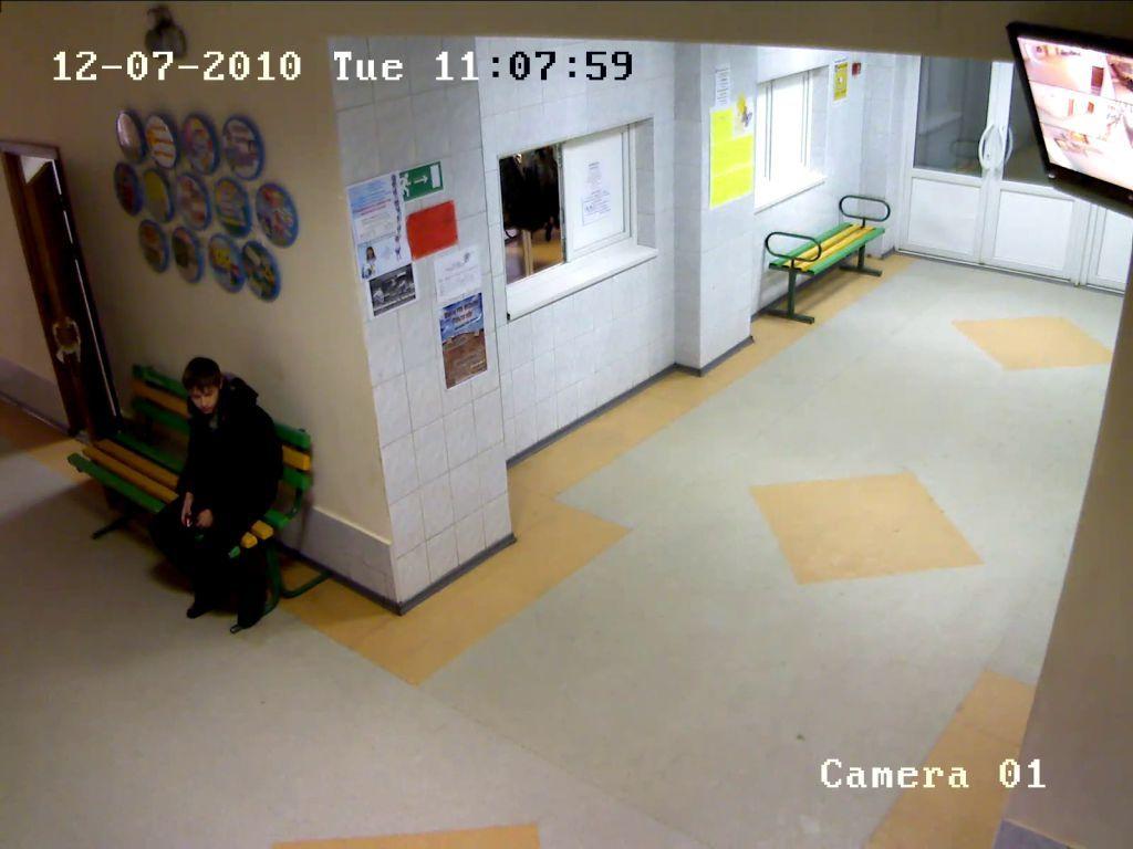 г. Томск, Детская  общеобразовательная школа № 12 Камера DS-2CD7153-E