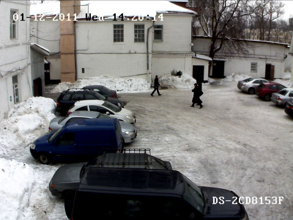 г. Москва, Офис DSSL в России, технический отдел, тест камеры DS-2CD8153-E